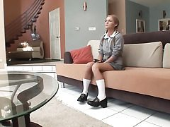 A excellent schoolgirl gets hardcored
