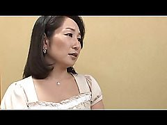 Mature Japanese hot mom seducing a young boy with her tight body. She receives..