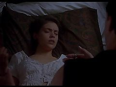 Alyssa Milano nude - Embrace of the Vampire (1995) - by Search Celebrity HD