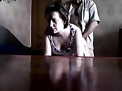 Hidden cam displaying a Russian unfaithful wifey fucked doggystile by her lover.