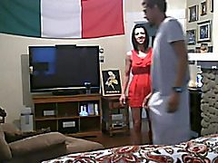 white mummy cheats with a bbc on hidden webcam