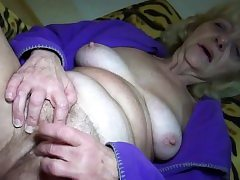 Blonde Granny Luvs Sex In Any Form