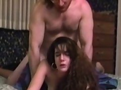 Old stud pounds young pussy doggystyle