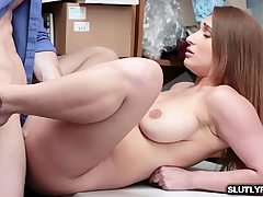 LP Officer fucks Skylar Snow on the top