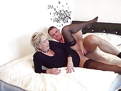 GERMAN STEP Sonnie CAUGHT MOTHER masturbate and help with Fuck