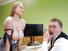 LOAN4K. Hot sex in the loan office of Suzie Sun and tricky..