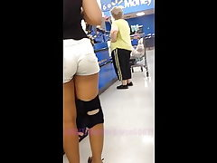 Thick Mixed Teenager In Short Cut-offs