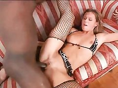 Super-naughty blonde hotty gets fucked by bbc