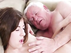 Hardcore old youthful sex with dirty grandpa